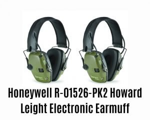 Honeywell R-01526-pk2 Howard Leight Electronic Earmuff Review
