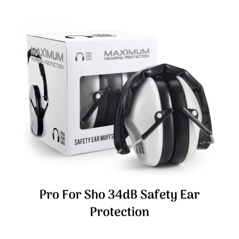 Pro For Sho 34 dB Safety Ear Protection: